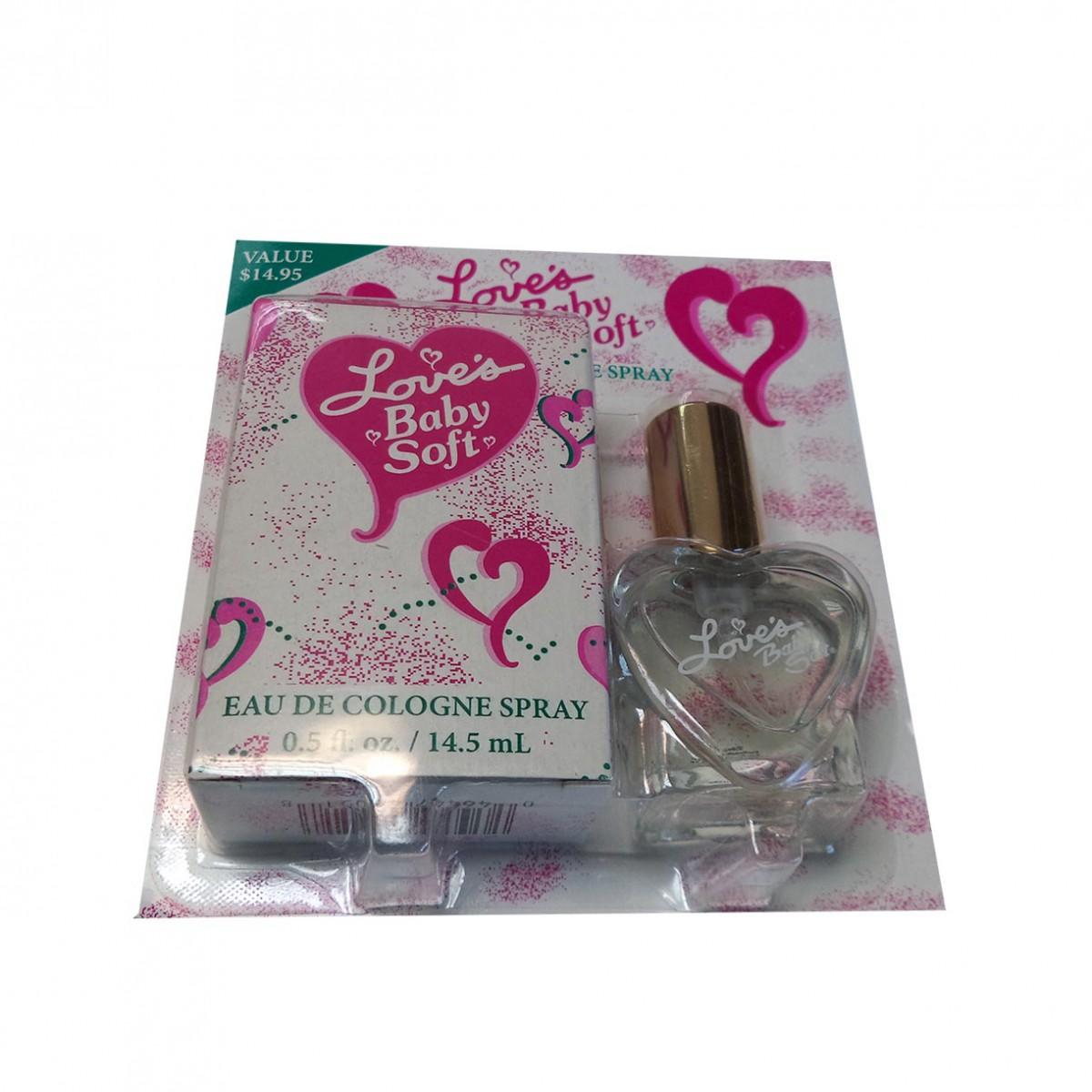 Consumo fragrances Love S Baby Soft Eau De Cologne 14.50ml