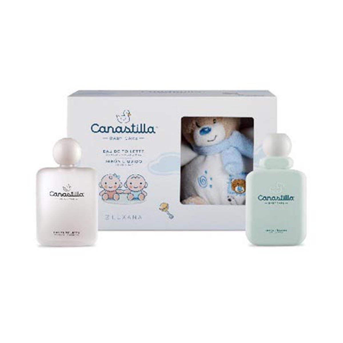 Consumo fragrances Luxana Canastilla Baby Eau De Toilette 100ml Gel 250ml
