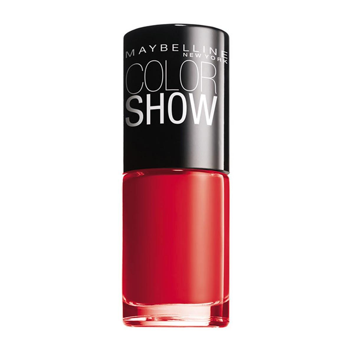Maybelline fragrances Colorshow 349 Power Red