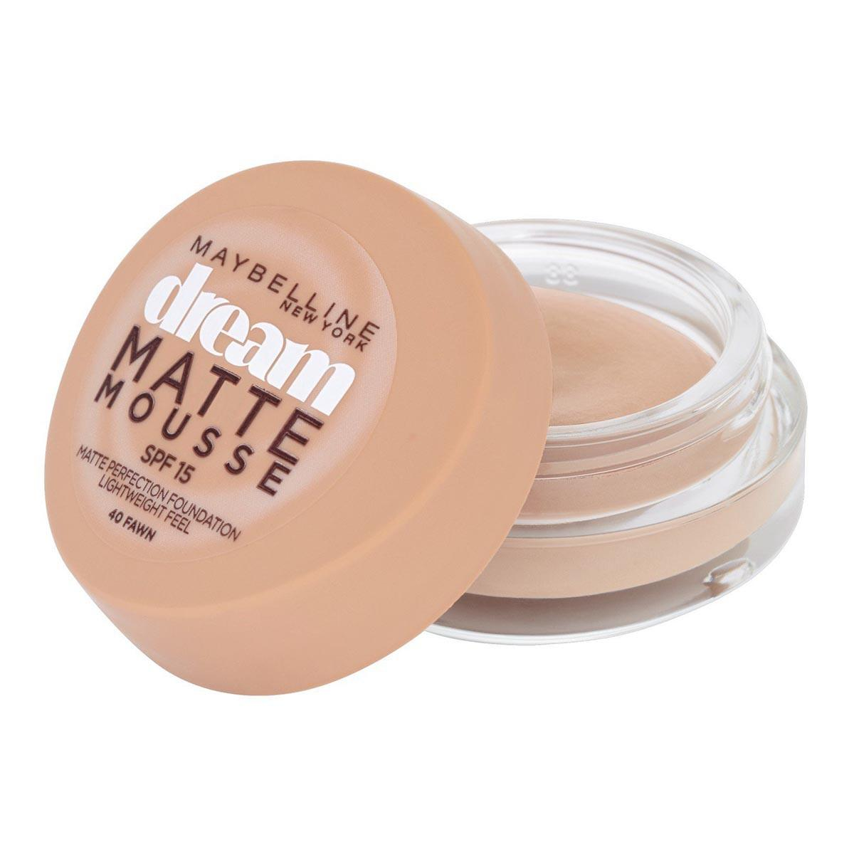 Maybelline Dream Mat Mousse 40 Fawn