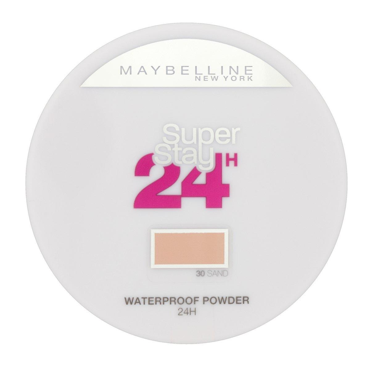 Maybelline fragrances Super Stay 24H Waterproof Powder 30 Sand