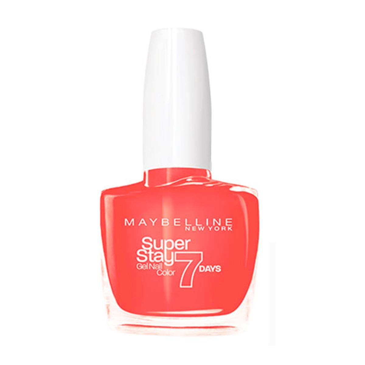 Maybelline Superstay Gel Nail Color 7 Days 460 Couture Orange