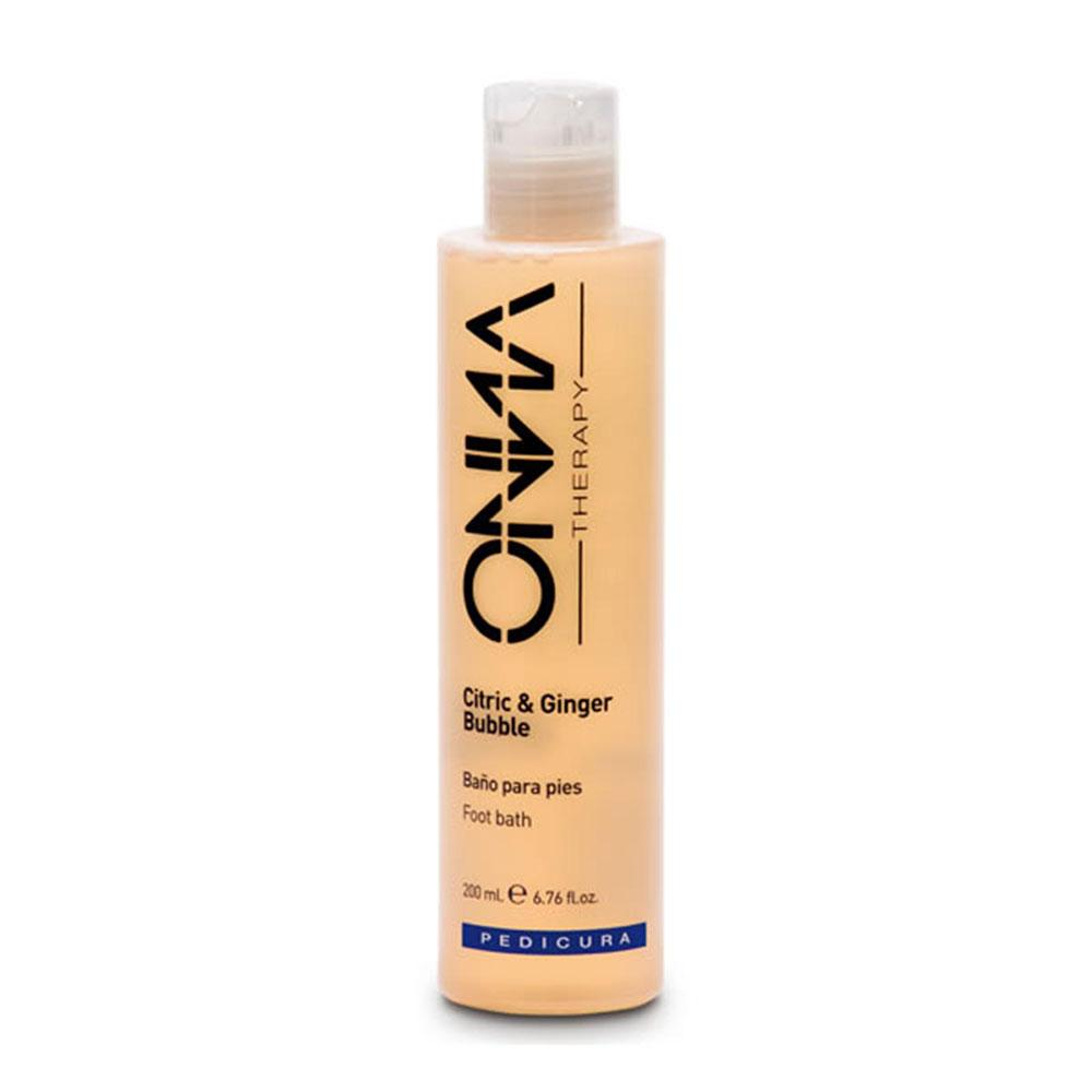 Onna therapy Citric Ginger Bubble Shower Feet 200 ml