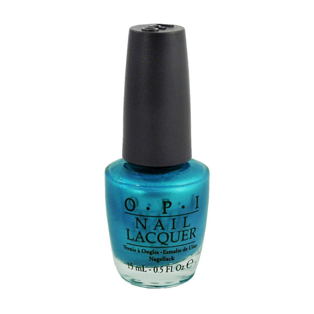 Opi Nail Lacquer Nlb54 Teal The Cows Come Home