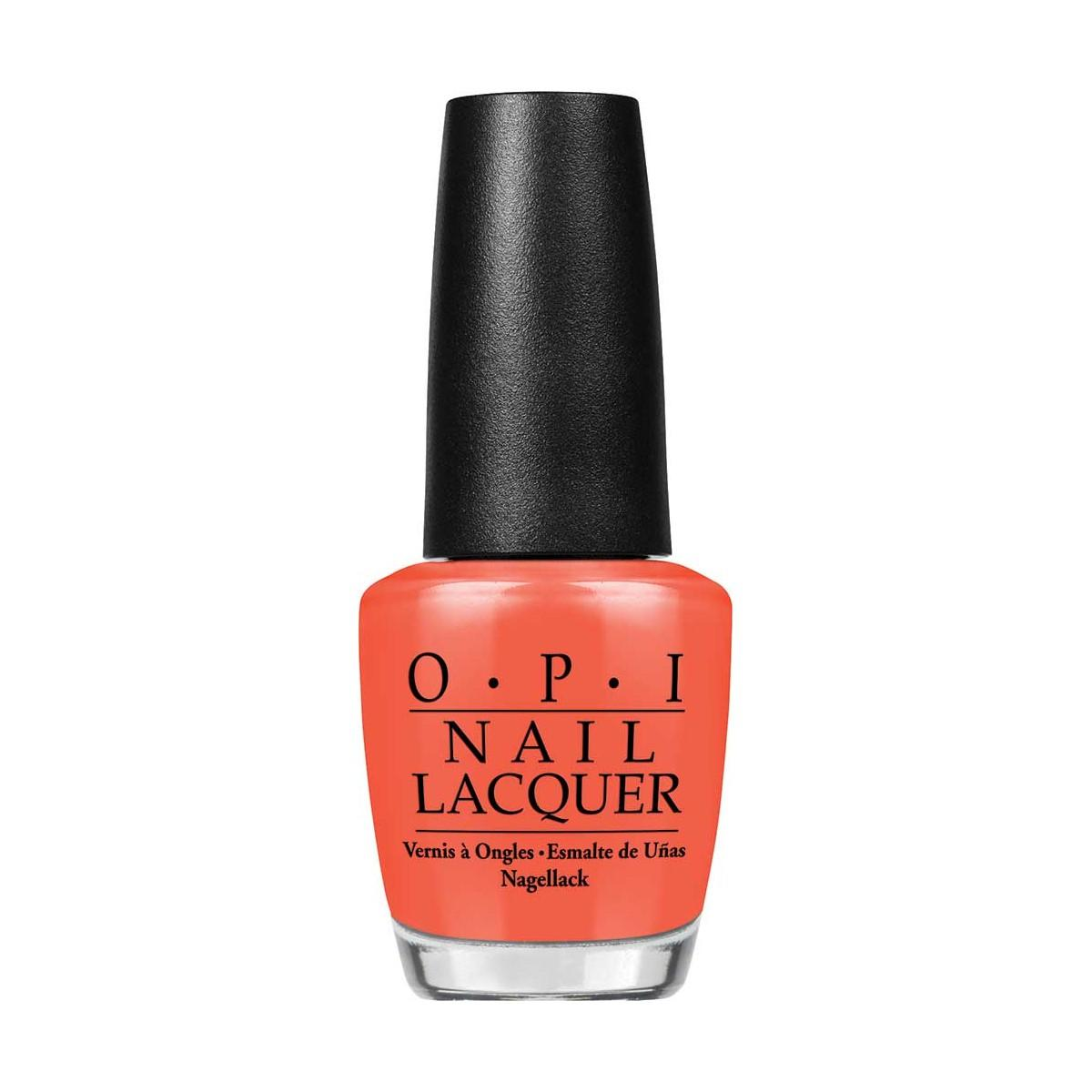 Opi Nail Lacquer Nlh43 Hot Spicy