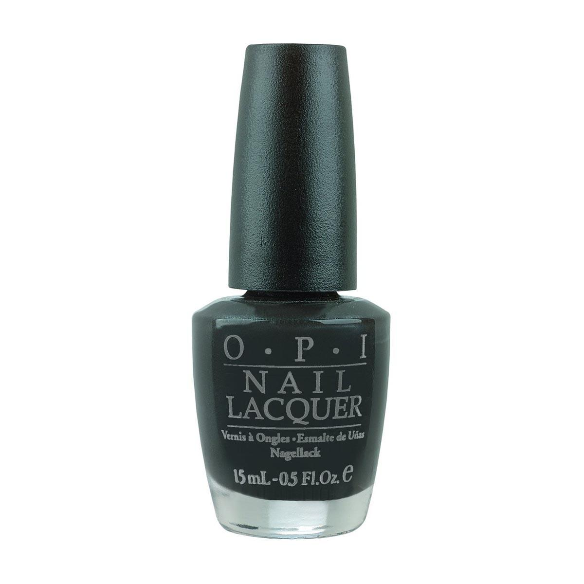 Opi fragrances Nail Lacquer Nlt02 Eulady In Black