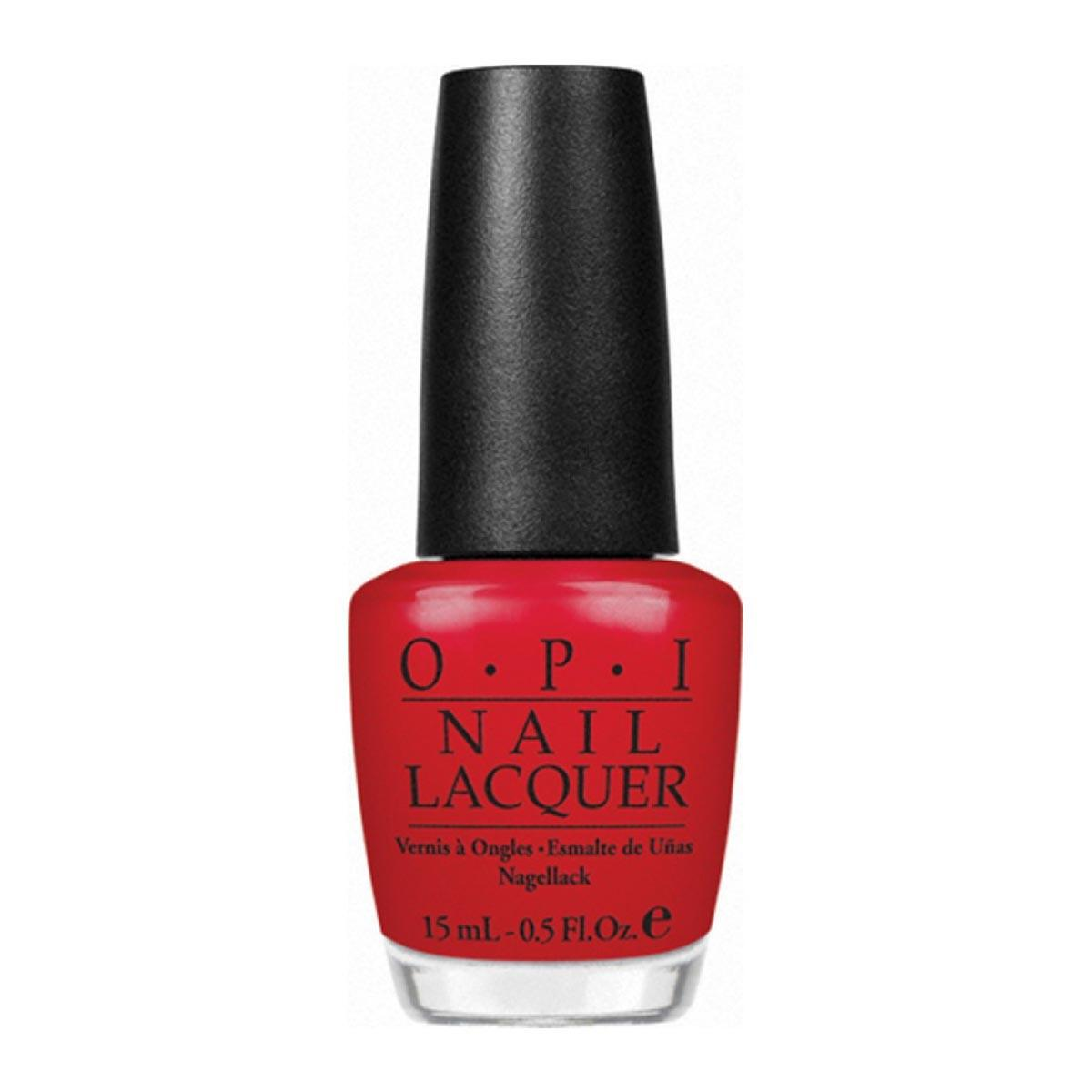 Opi Nail Lacquer Nlz13 So Hot It Berns