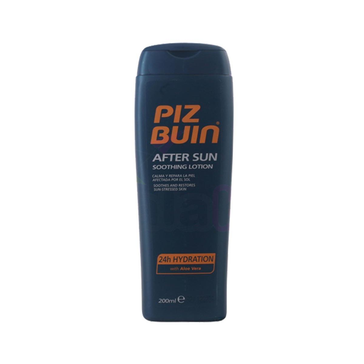 Piz buin fragrances After Sun Soothing Lotion 24 Hydration With Aloe Vera 200ml
