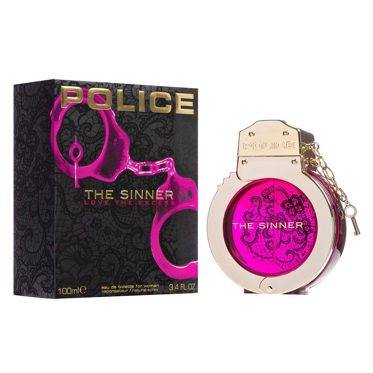 Consumo Police The Sinner Love The Excess Woman Eau De Toilette 100 ml