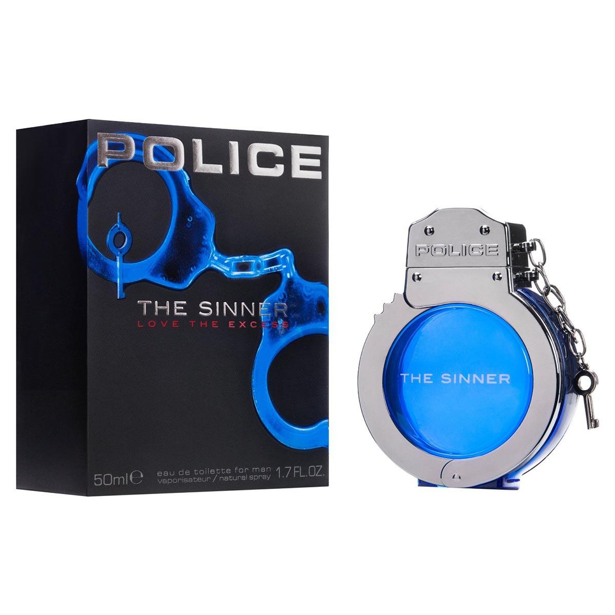 Consumo Police The Sinner Man Eau De Toilette 50 ml