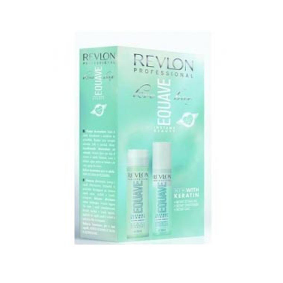 Revlon Equave Conditioner With Keratin 200 ml Shampoo With Keratin 250 ml