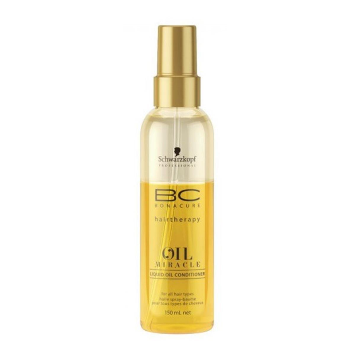 Schwarzkopf fragrances Bonacure Hairtherapy Oil Miracle Liquid Oil Conditioner 150ml Vapo