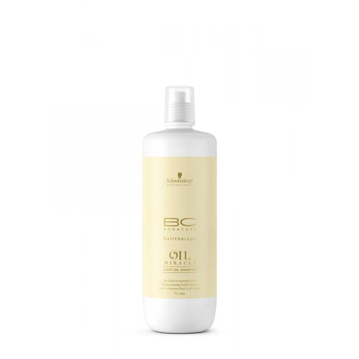 Schwarzkopf Bonacure Oil Miracle Light Shampoo 1000 ml