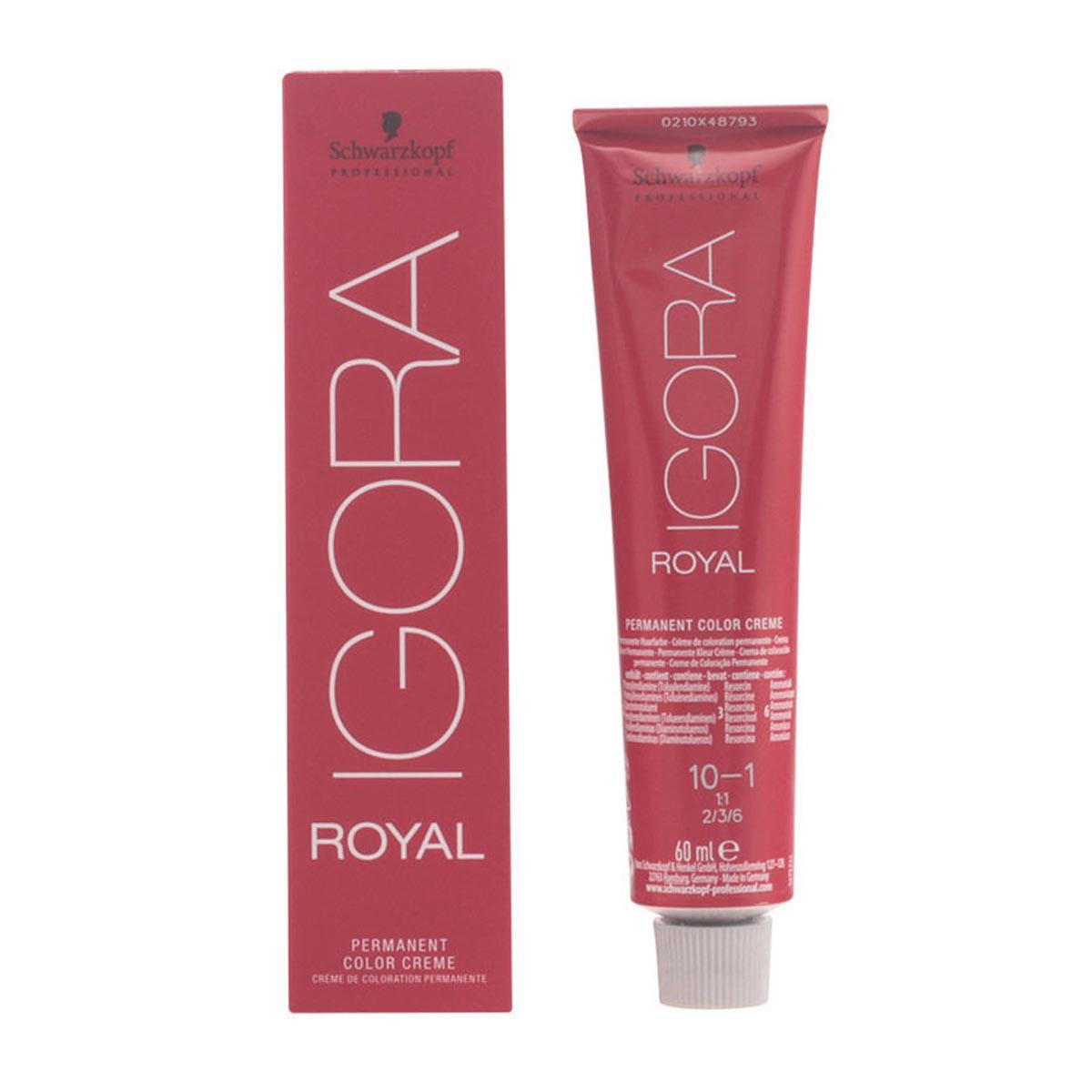 Schwarzkopf fragrances Igora Royal Permanent Color Cream Ash Platinum Blonde 60ml