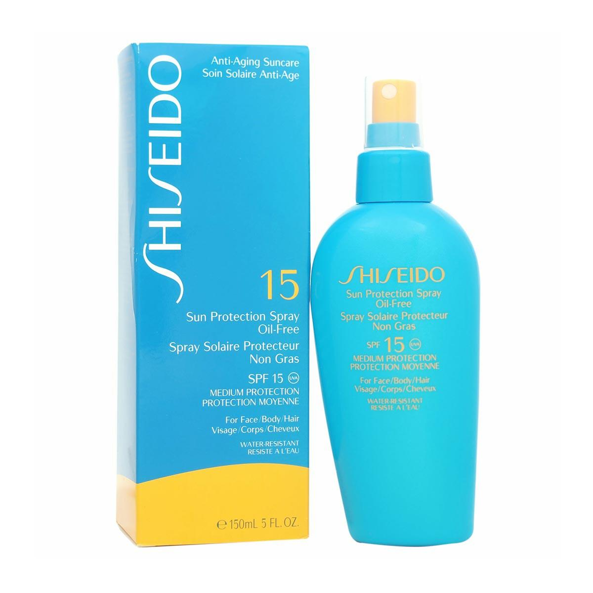 Shiseido fragrances Antiaging Suncare Sun Protection Oil Free Spray 150ml