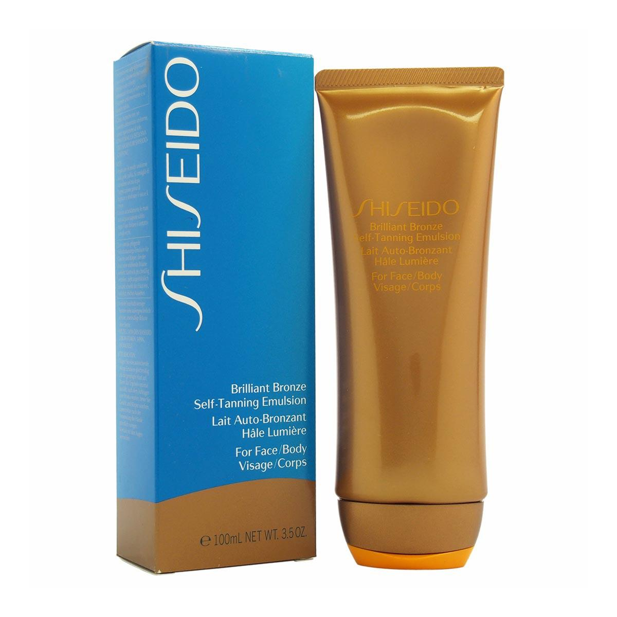 Shiseido Brilliant Bronze Selftanning Emulsion 100 ml