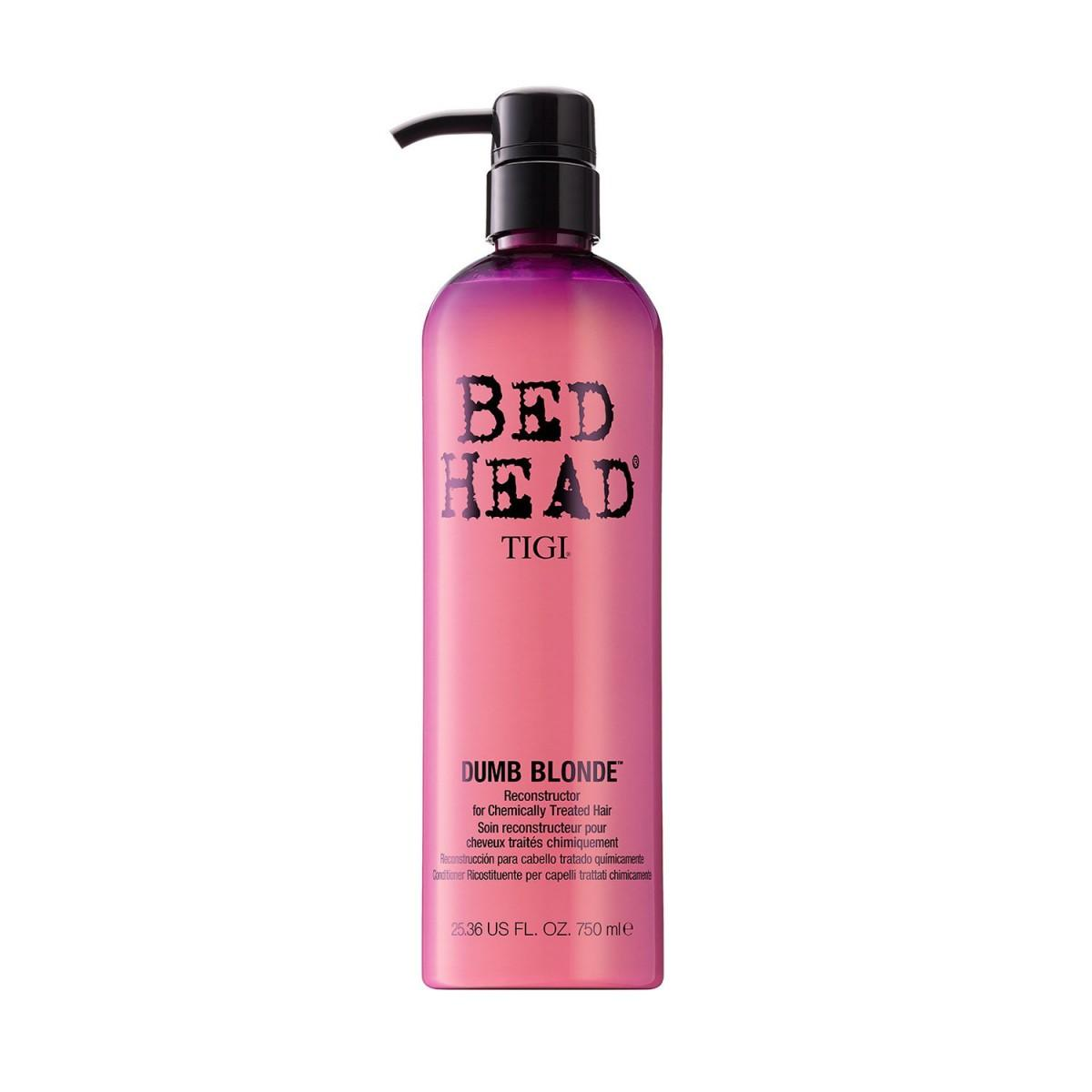Tigi Bed Head Dumb Blonde Reconstructor For Chemically Treated Hair 750 ml