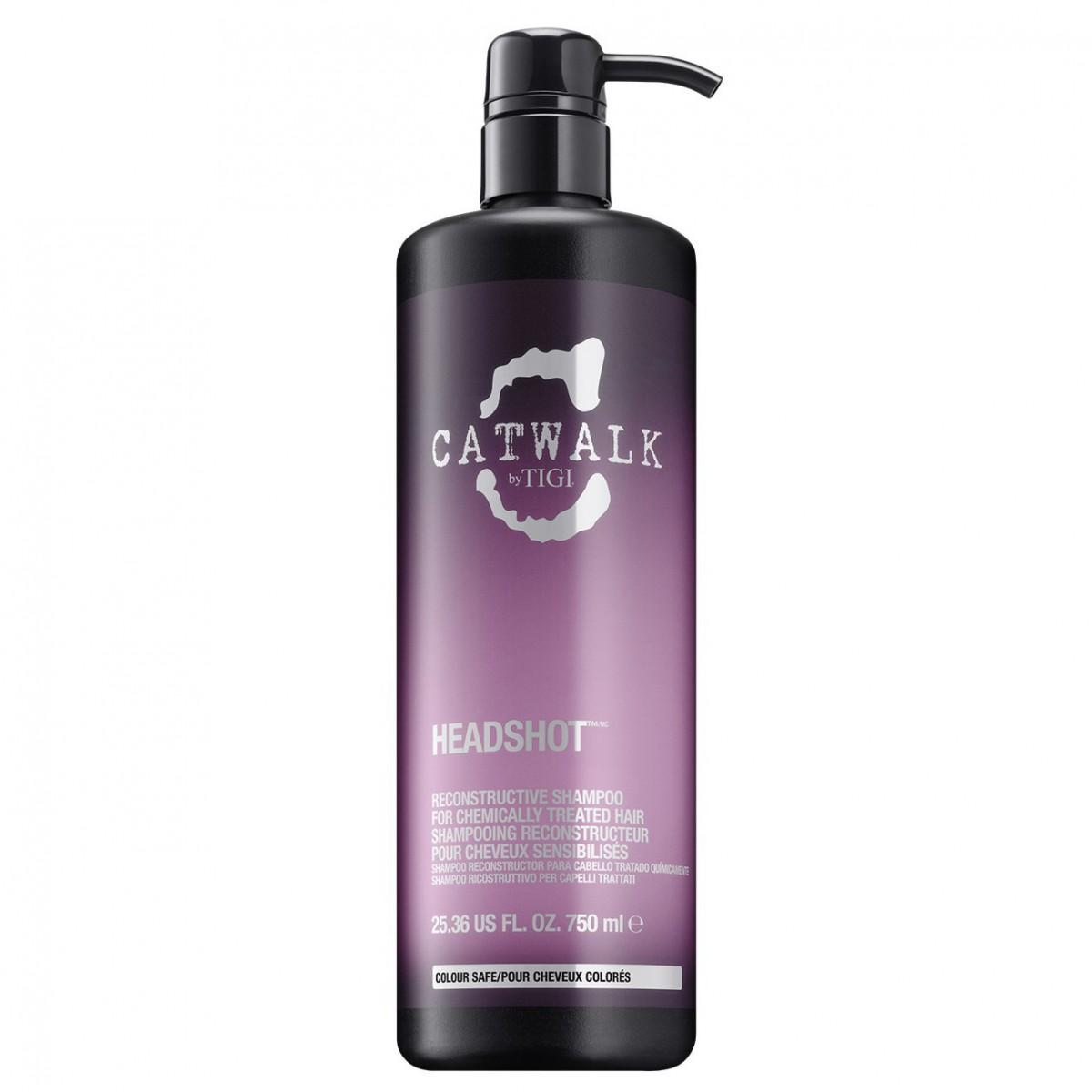 Tigi fragrances Catwalk Headshot Shampoo 750ml