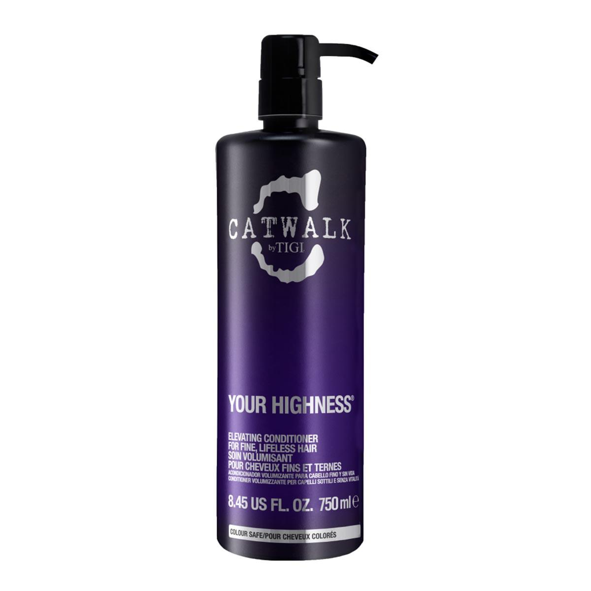 Tigi Catwalk Your Highness For Fine Hair Shampoo 750 ml