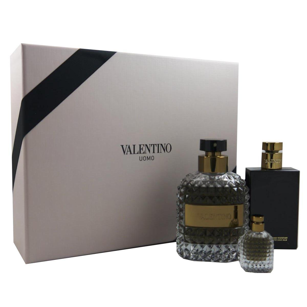 Valentino Uomo Eau De Toilette 100 ml After Shave 100 ml Miniature
