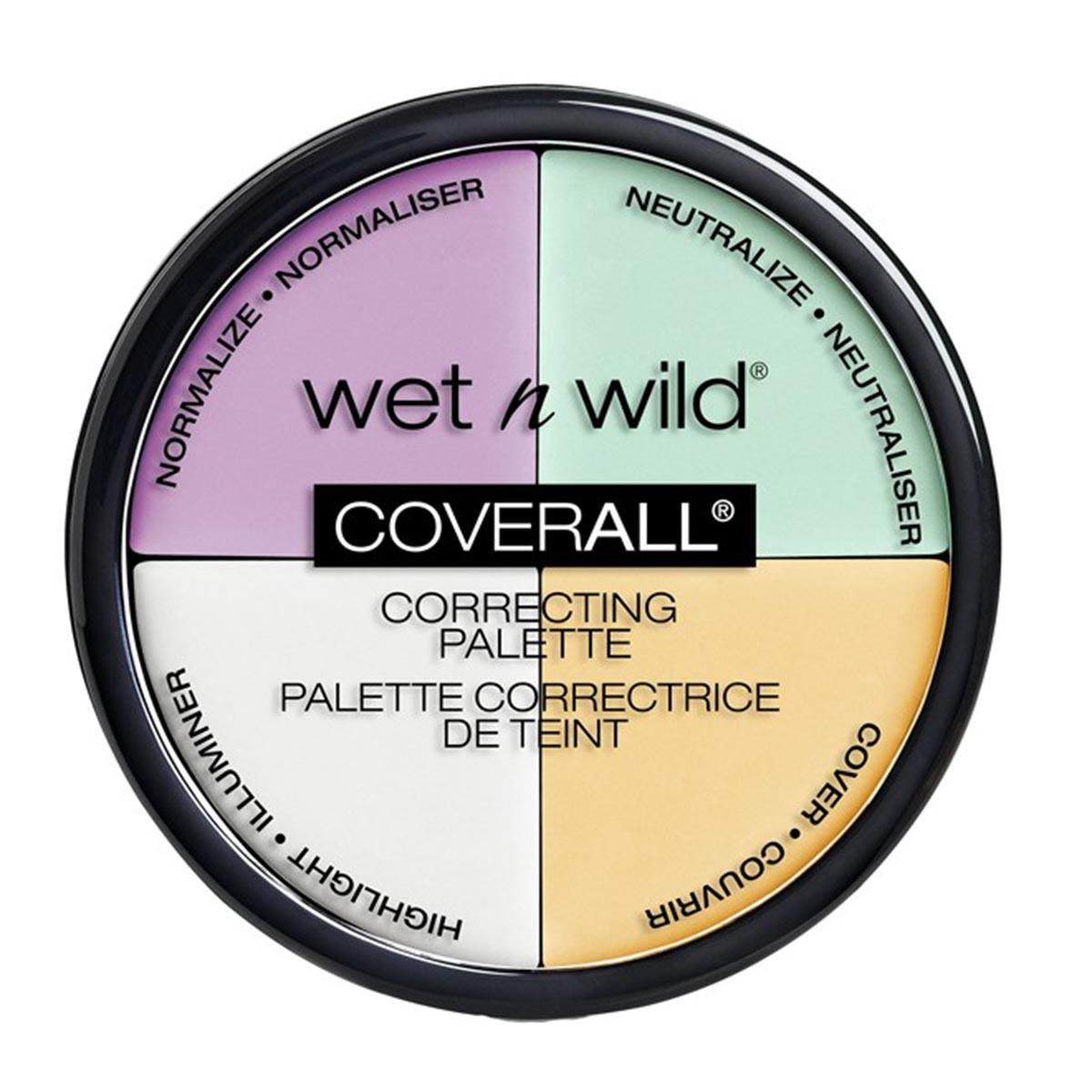 Wet n wild fragrances Coverall Correcting Palette Color Commentary
