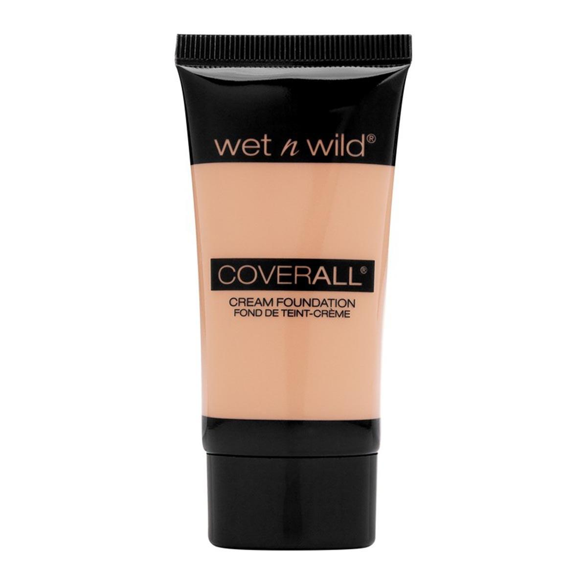 Wet n wild fragrances Coverall Cream Foundation Fond De Teintcream Light Medium