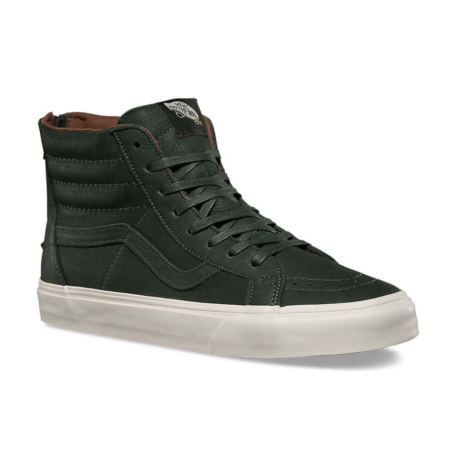5eba3cb4df Vans Sk8 Hi Reissue Zip Dx Green buy and offers on Dressinn