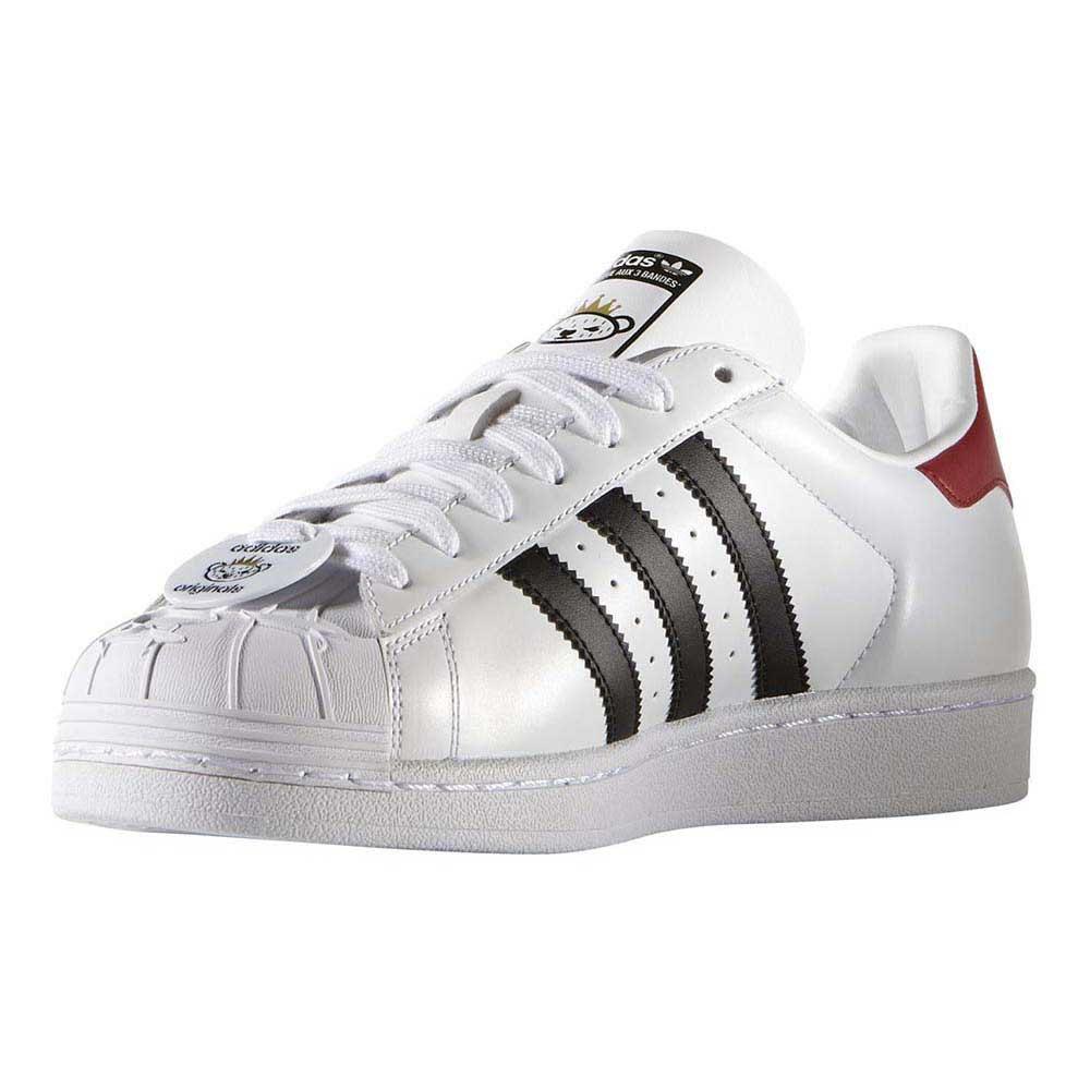 Adidas Originals Superstar Nigo Bearfoot ftwr blanco / CORE negro