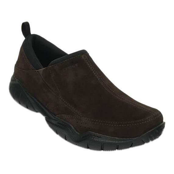 Crocs Swiftwater Leather Moc M