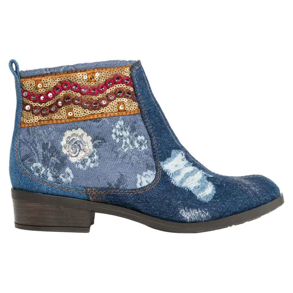 Desigual shoes Denim Patch Boho