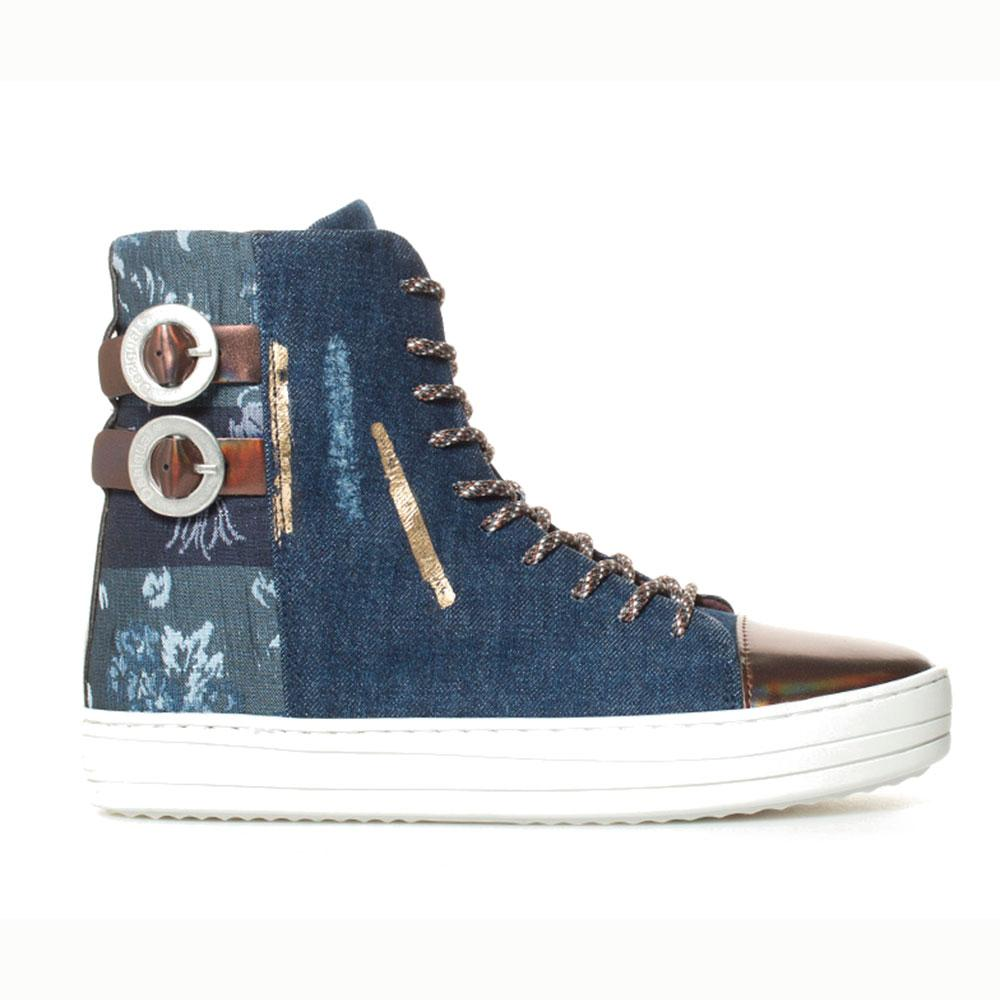 Desigual shoes Denim Patch Reggae