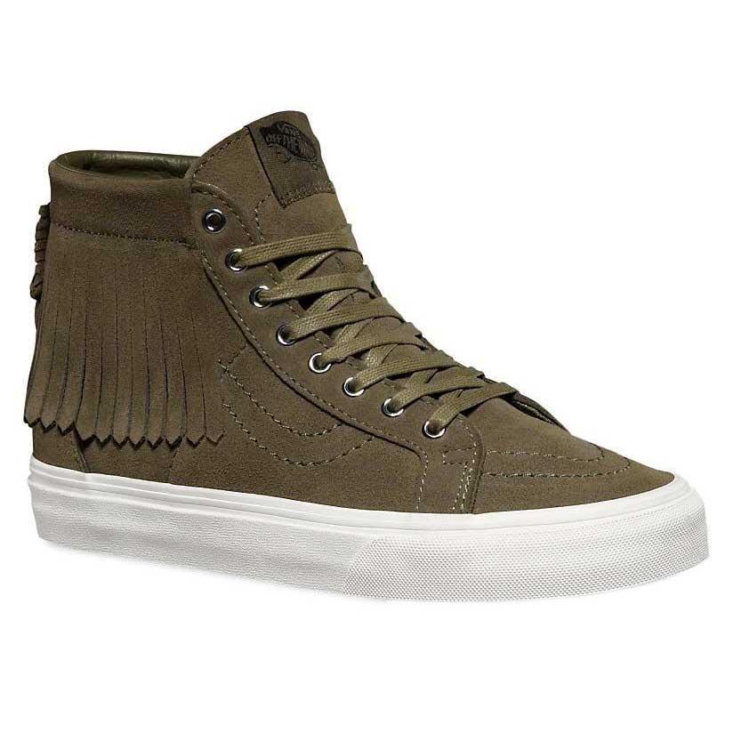 Vans Sk8 Hi Moc Verde comprar e ofertas na Dressinn Sneakers 468ac5e29e827