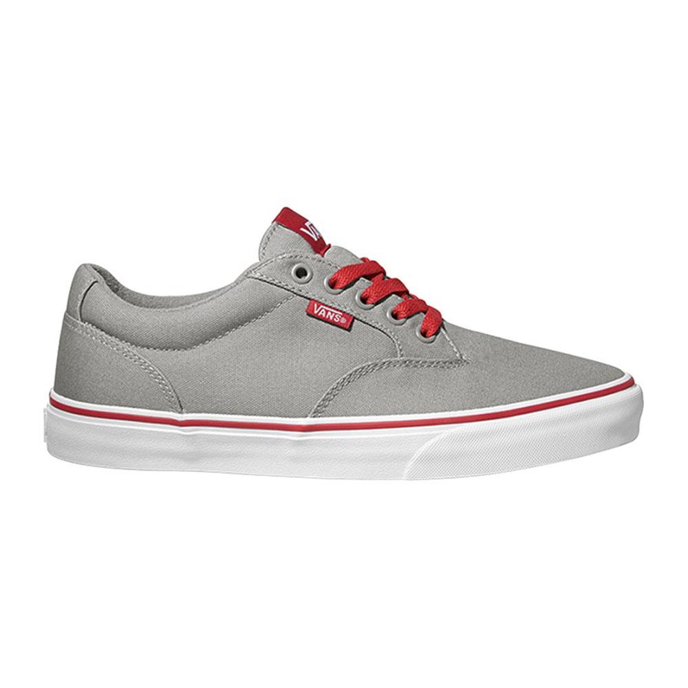30032d3cce41 Vans Winston Varsity Gray   Red buy and offers on Dressinn