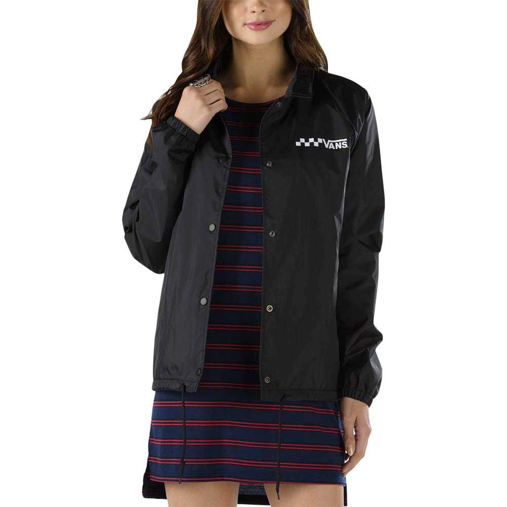 Vans Thanks Coach Jacket Black Buy And Offers On Dressinn
