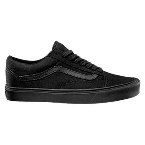 vans old skool lite black white