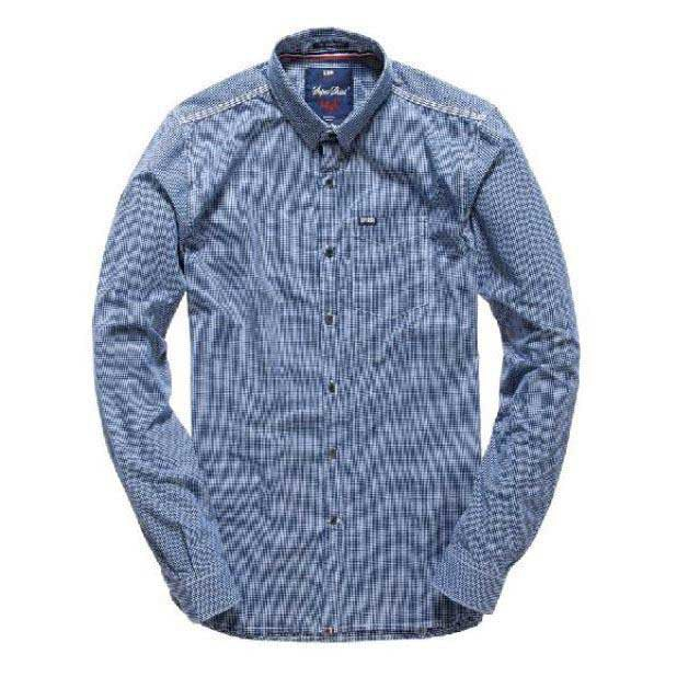 Superdry Academy Button Down Ls Shirt
