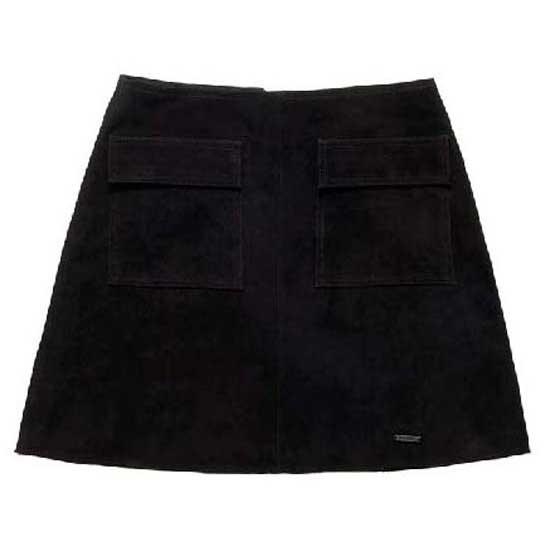 Superdry Billie Suede Pocket Skirt Black a18b584e54f4