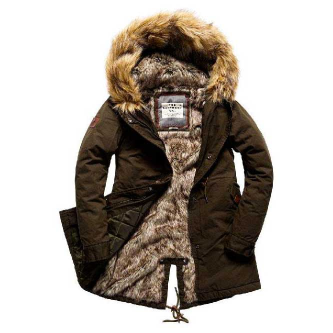 Superdry Borderlands Fur Lined Parka buy and offers on Dressinn