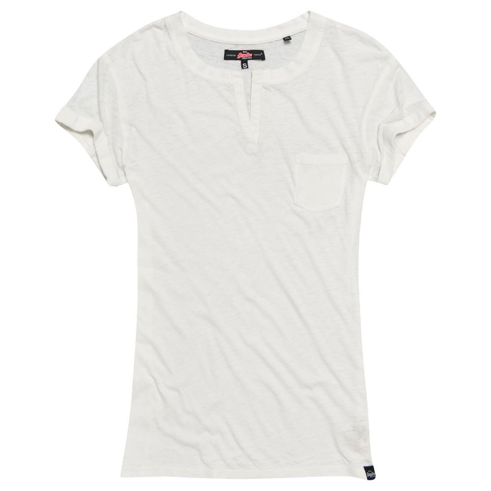 Superdry Burnout Notch Neck Pocket Tee
