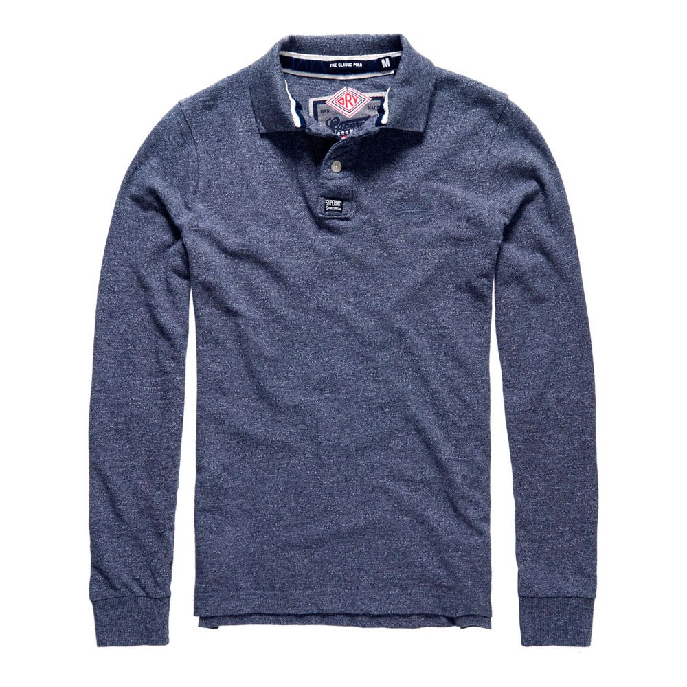 Superdry Classic Ls Pique Polo