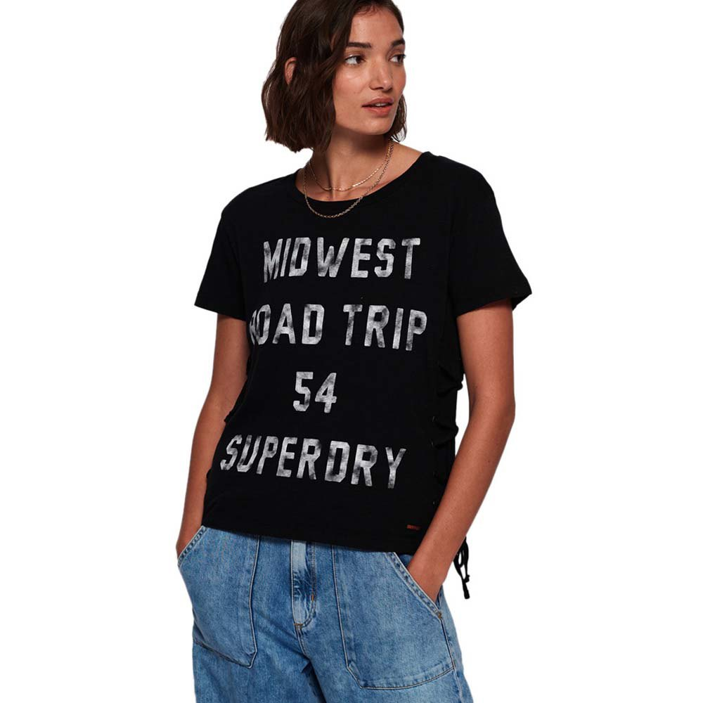 Superdry Colorado Lace Up Tee