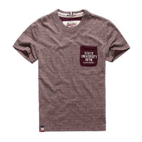 Superdry Core Applique Ss Pocket Tee