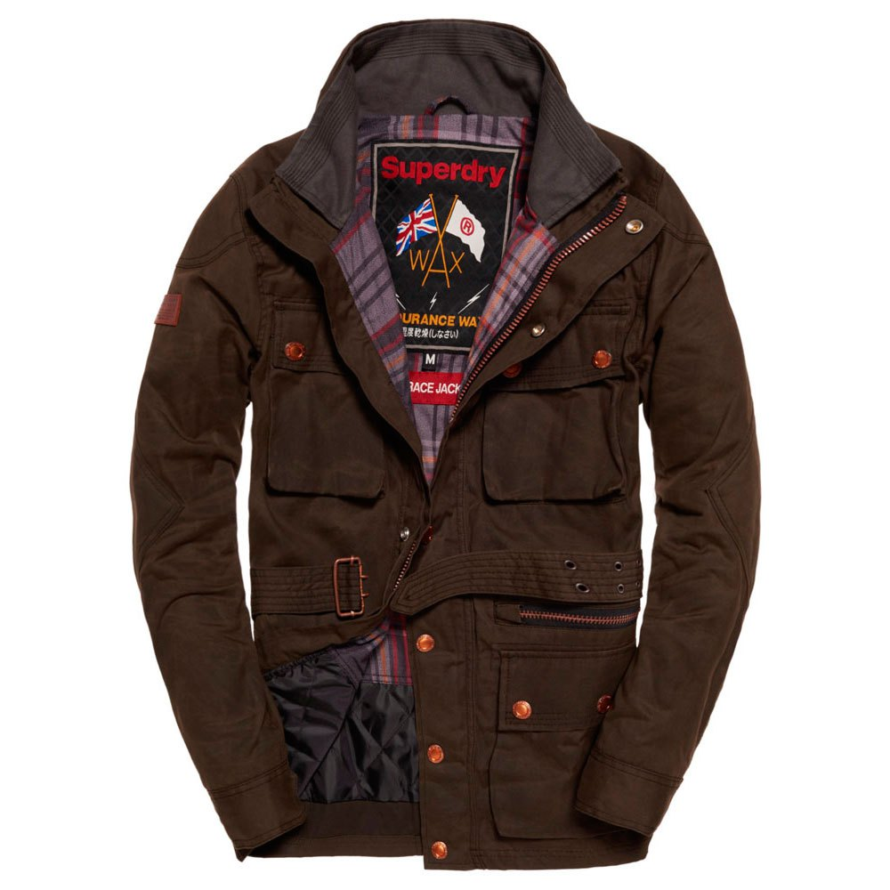 Superdry Endurance Wax Trials Jacket