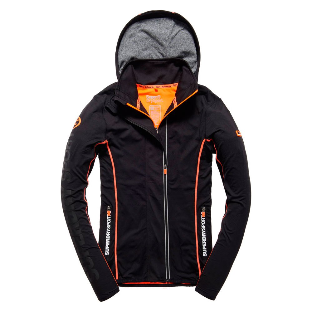 Superdry Gym Sport Runner Panel Ziphood