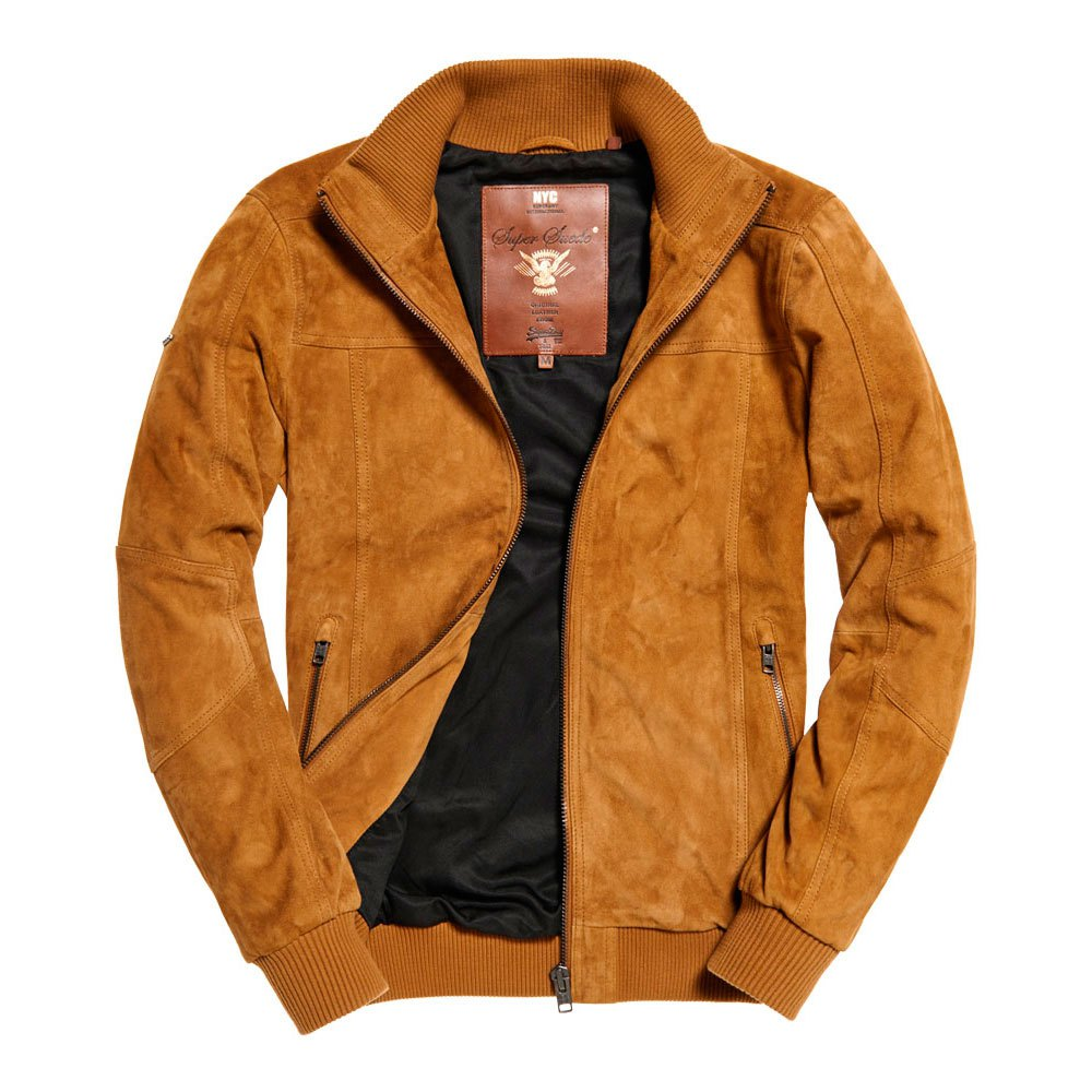 Superdry Hutch Suede Bomber