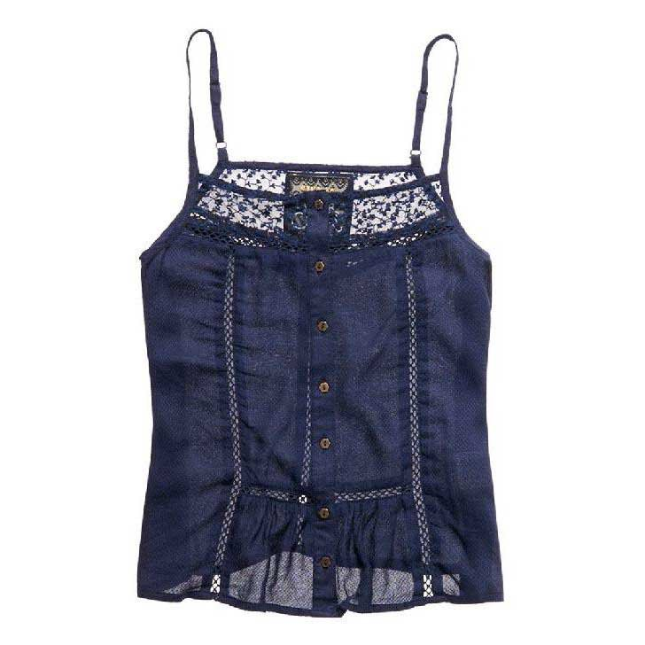 Superdry Kansas Button Through Cami Top