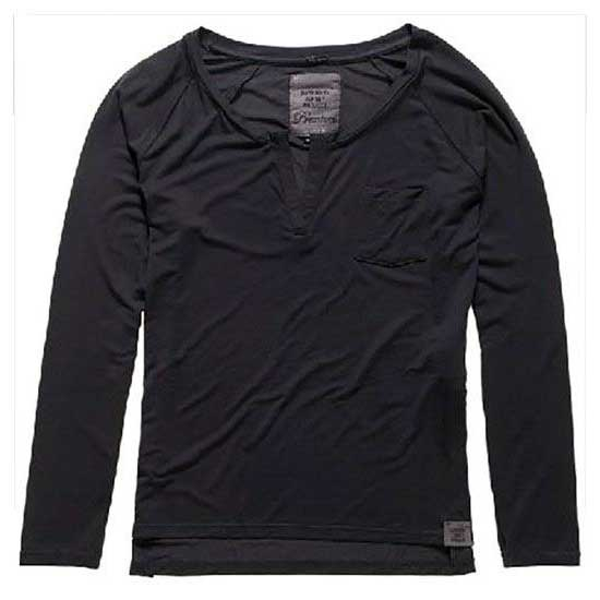 Superdry Luxe Notch Neck Ls Tee