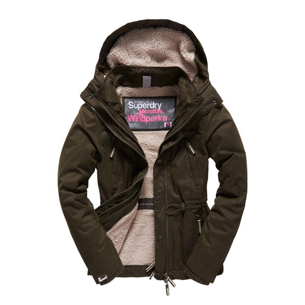 Superdry Microfibre Boxy Snorkle Windcheater