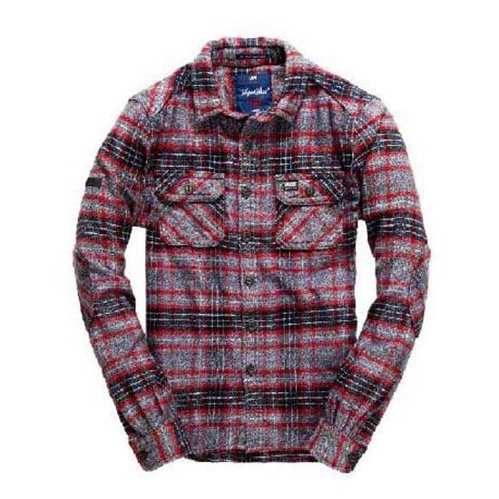Superdry Milled Flannel Ls Shirt