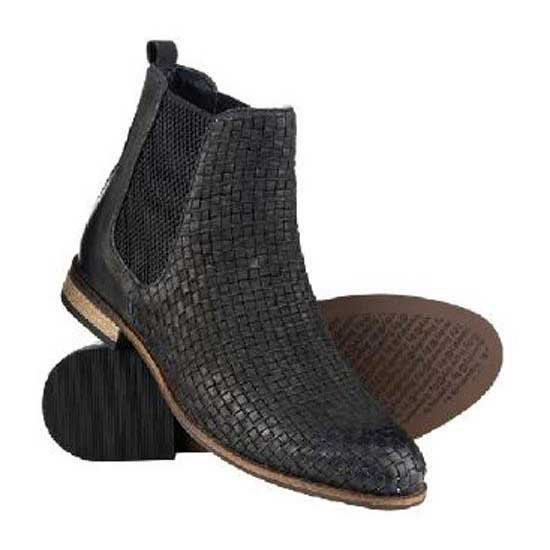 Superdry Millie Woven Chelsea Boot